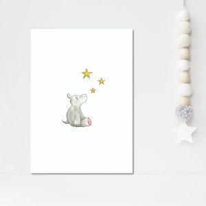Hippopotame dans les étoiles