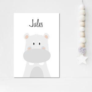 Sam, le petit hippopotame