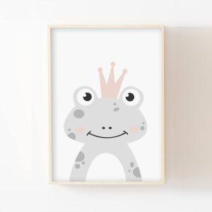 Gribouille, le prince grenouille