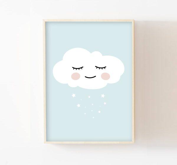 cadre-nuage-bleu