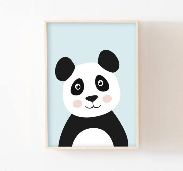 cadre-panda-bleu