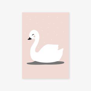 Le petit cygne blanc