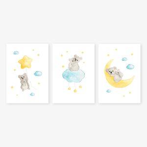 Etoiles – Koalas – Trio Aquarelles