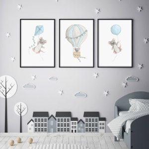 Ciel – Souris – Trio Aquarelles
