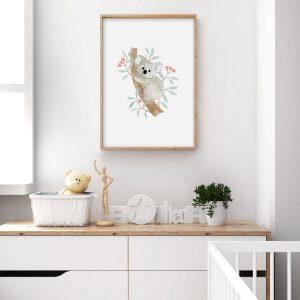 Koala – Aquarelle individuelle