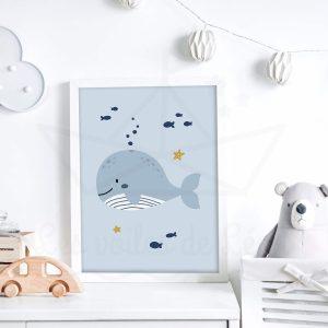 La petite baleine – Affiche
